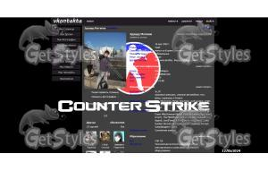 Counter Strike 1 тема для контакта