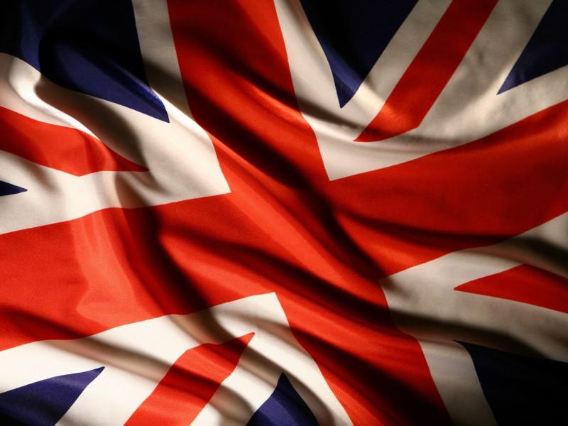 темы с британским флагом